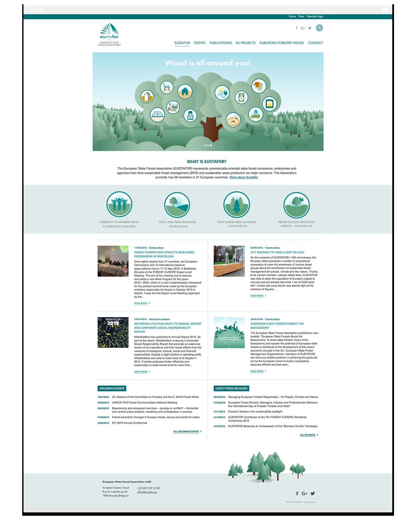 Eustafor Website Home