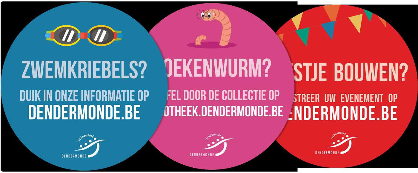 Stickers Dendermonde